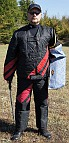Jeffrey looking Good in our Protection scratch suit for dog training - PBS4suit
