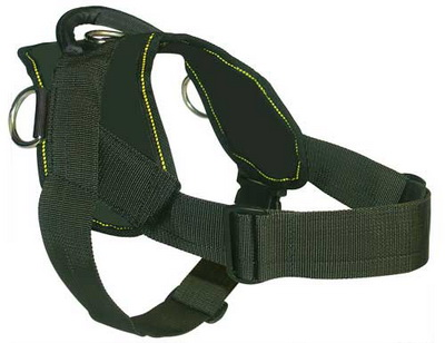 pulling nylon dog harness