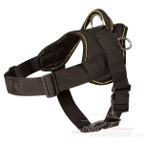 Pyrenean Mastiff Nylon dog harness with handle