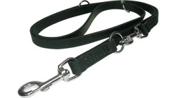 Multi Functional  Leather Dog Leash - L1