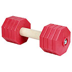 'Fast Grip' Reliable Wooden Dog Dumbbell for Schutzhund Training III 2000 g