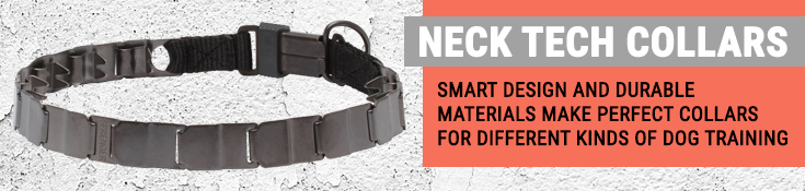 Neck Tech Collars - Smart Design and Durable Materials Make Perfect Collars for Different Kinds of Dog Training