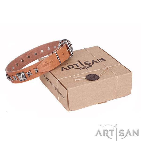 Best Quality Dog Collar of Artisan Design