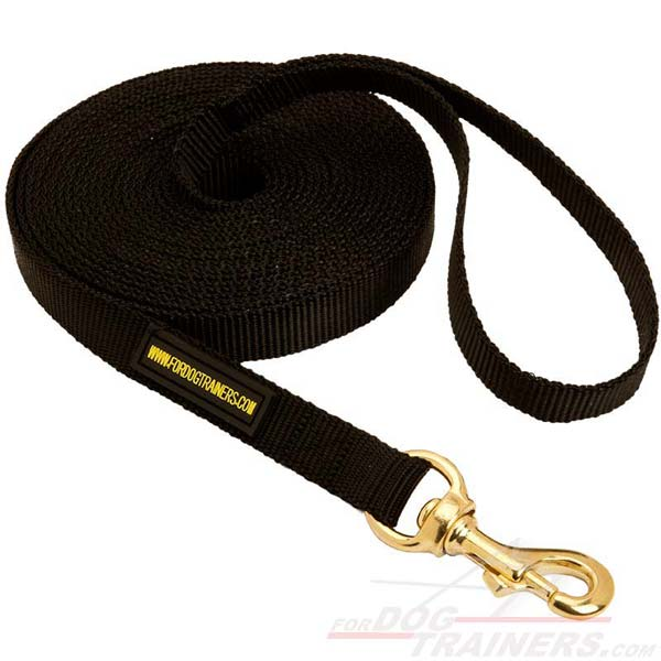 Any Weather Canine Leash for Training and Tracking