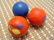 Crazy Color Rubber Ball - te300