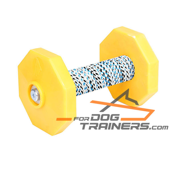 Schutzhund Training Dog Dumbbell of Dried Wood
