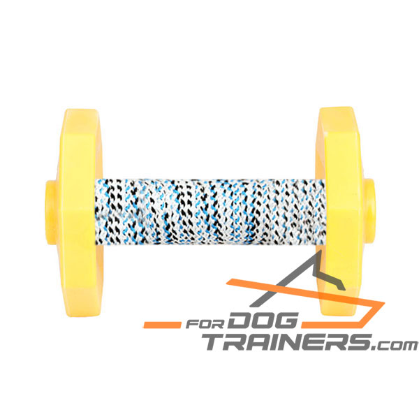 Dog Training Dumbbell with Removable Weight Plates