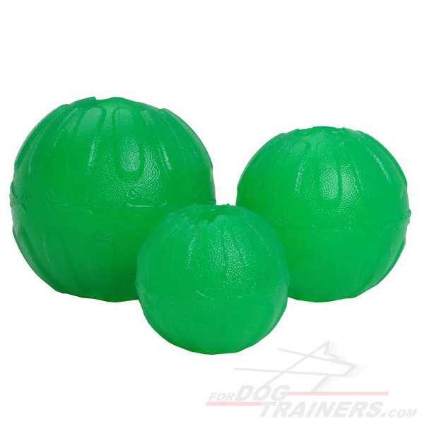 Treat Dispensing Dog Rubber Chewing Ball