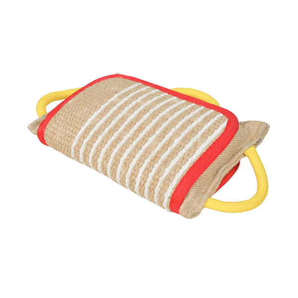 Durable Bite Pad. Jute Bite Pad for Effective Training