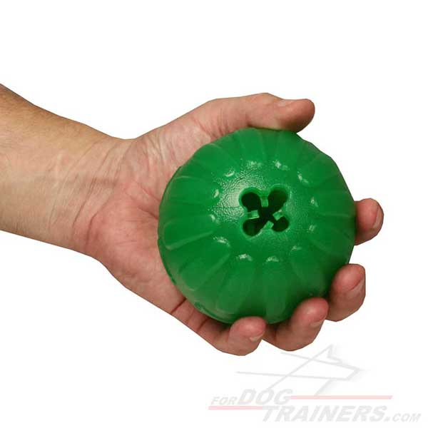Special Rubber Dog Ball for Food Dispensing