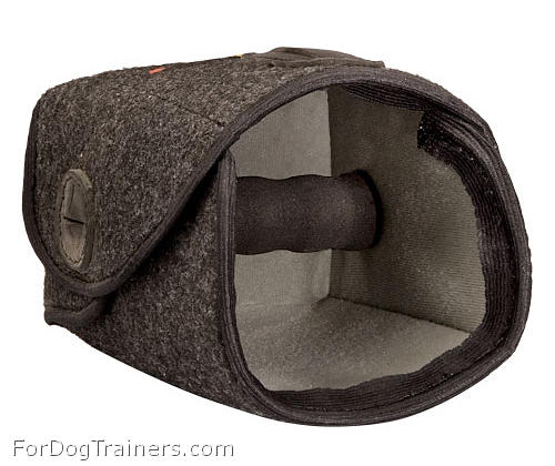 Hand protector made of dog safe material