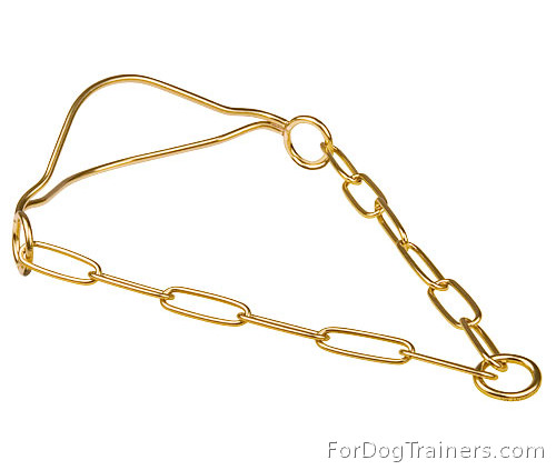 Show Dog Collar made of Brass - HS 400 51508 (33)(Made in Germany)