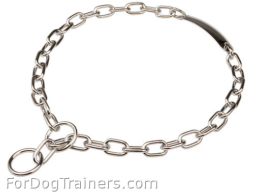 Chrome Plated Fur Saver with Name Plate