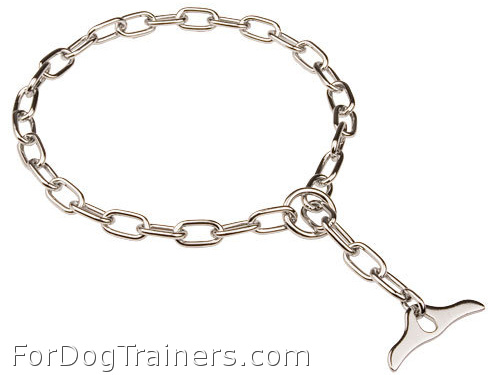 Strong Chrome Plated Collar with Toggle
