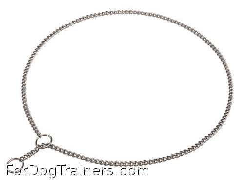 Your Dog deserves the best Show choke dog collar