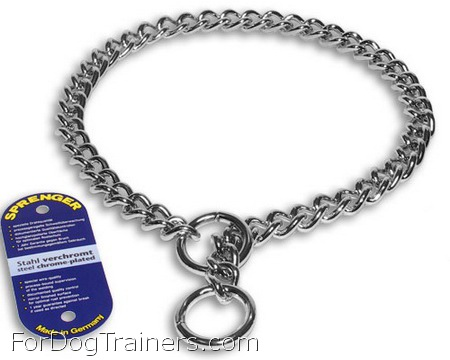 Choke dog collar - HS 51012 (02) ( Made in Germany ) - 1/9 inch (3.00 mm)