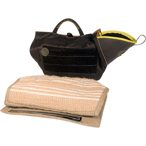 schutzhund training intermediate sleeve with jute cover