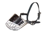 Metal Muzzle for Dogs Training with Good Air Flow